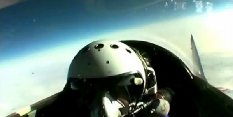 Exclusive Video – MiG-29 Trip to Edge Of Space