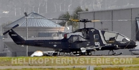 Photos – Secret US Stealth Helicopter Spotted?