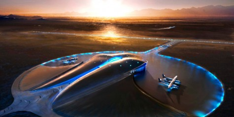 Opening of Spaceport America