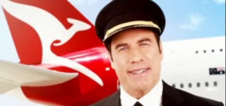 John Travolta in New Qantas Safety Video