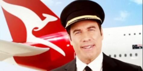 John Travolta in New Qantas Safety Video