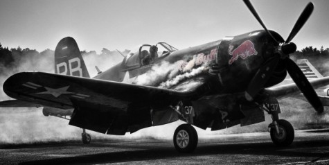 Hires Photo – Flying Bulls Vought F4U-4 Corsair