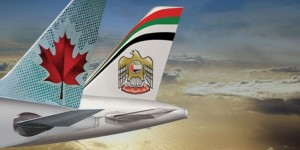 New Codeshare – Etihad Airways and Air Canada