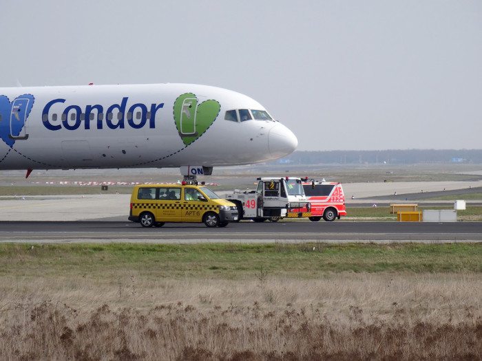 Condor Boeing 757 Aborted Takeoff