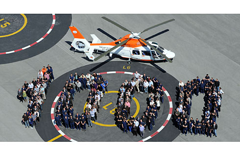 1000th Eurocopter Dauphin