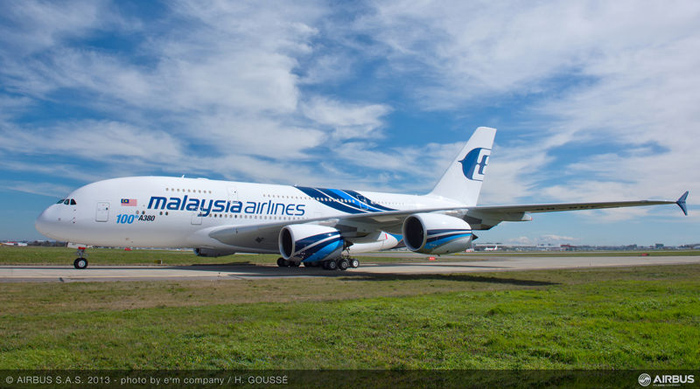 100th Airbus A380