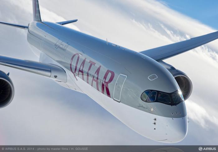 Qatar Airbus A350 XWB
