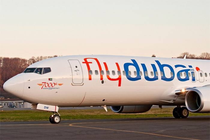 7000th Boeing 737 Fly Dubai