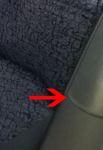 LAN Boeing 787 Armrest