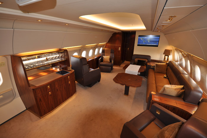 Airbus A318 Elite Cabin Design Hong Kong