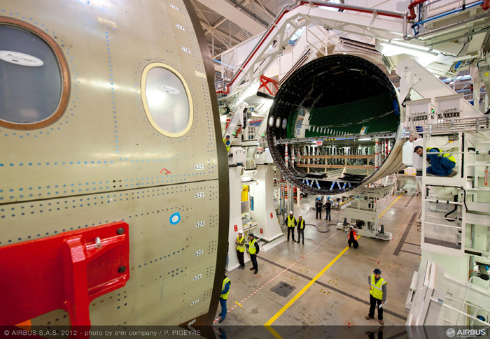 Airbus A350 XWB Final Assembly France