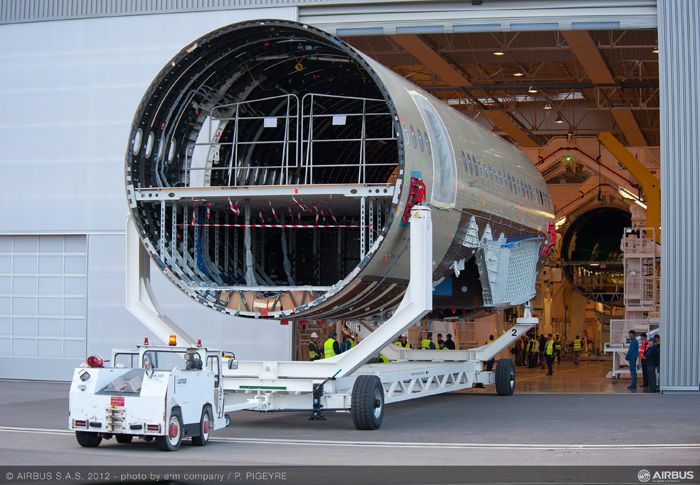 Airbus A350 XWB Final Assembly