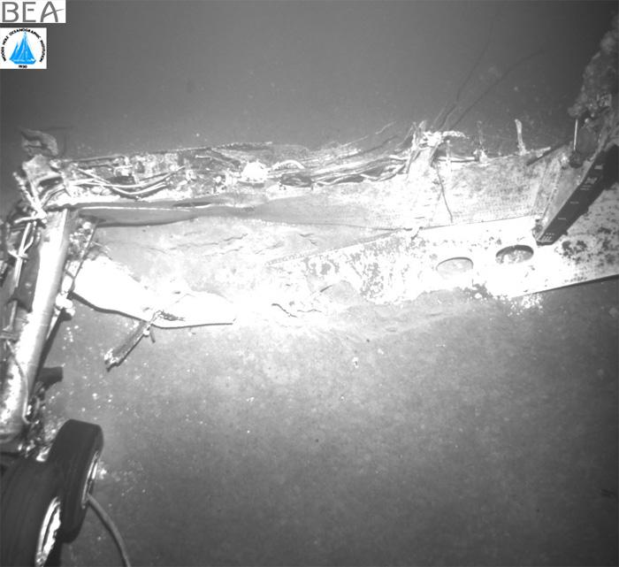 Air France AF447 Wreckage Landing Gear