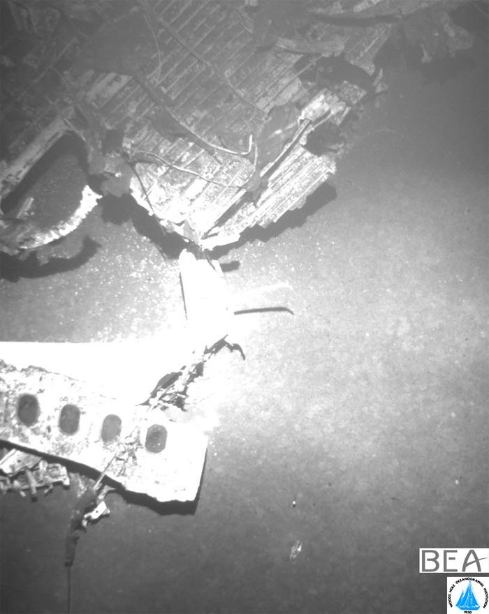 Air France AF447 Wreckage Fuselage