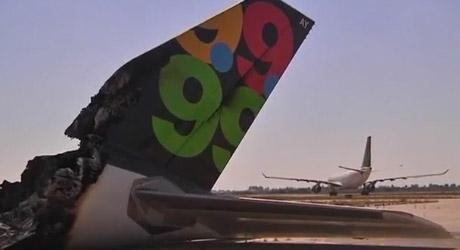 Afriqiyah Airways A300 Burned Down in Tripoli