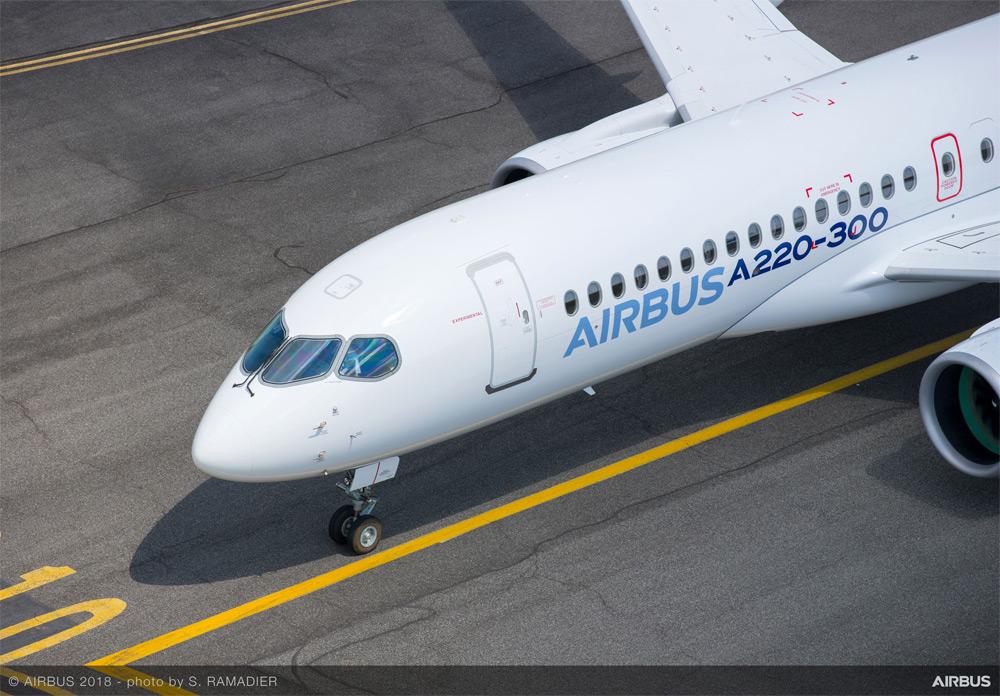 Airbus A220-300 Nose