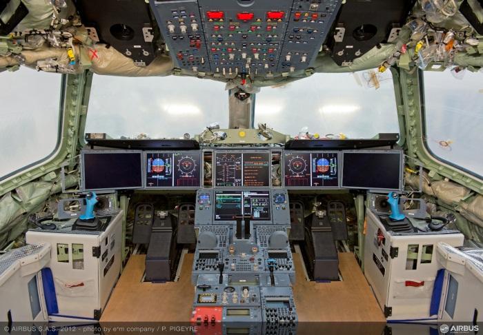 Airbus A350 XWB MSN1 Cockpit