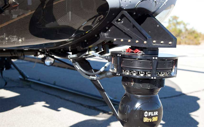 Bell 407AH Flir