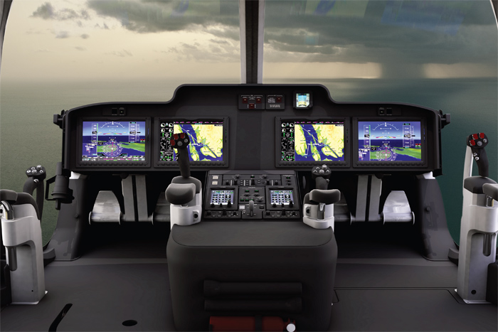 Bell 525 Relentless Cockpit