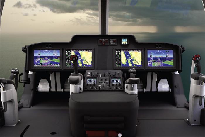 Bell 525 Relentless Cockpit