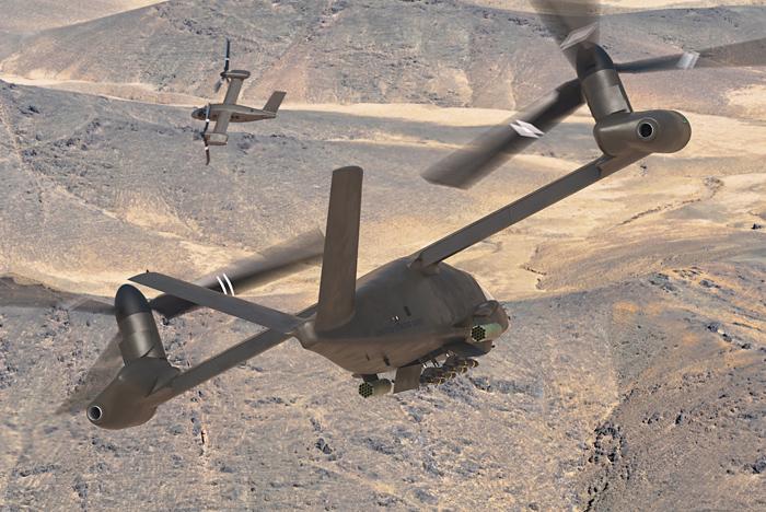 Bell V-280 Valor Tiltrotor Attack Helicopter