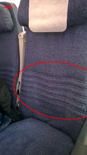 LAN Boeing 787 Seat