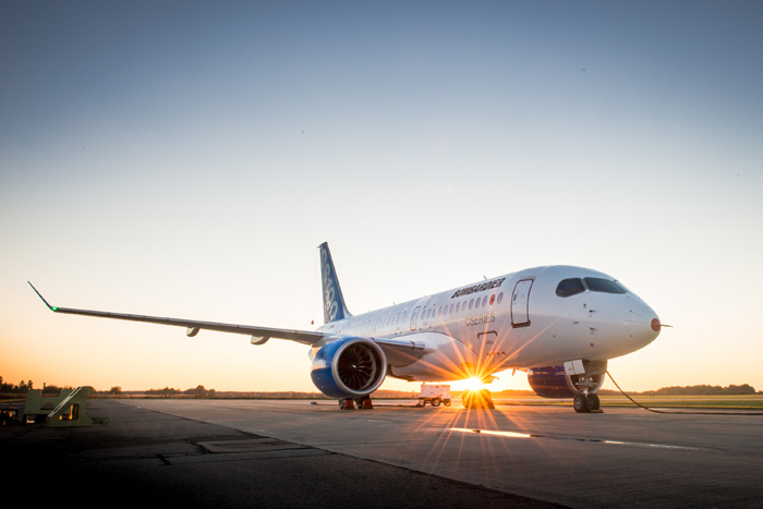Bombardier CS100 FTV1