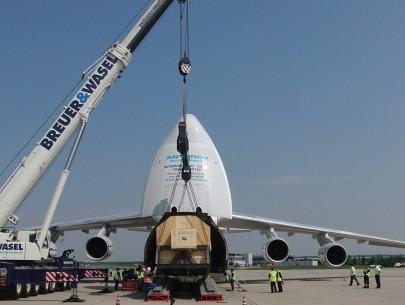 Antonov An-124 being loaded
