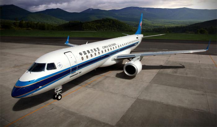 China Southern Embraer 190