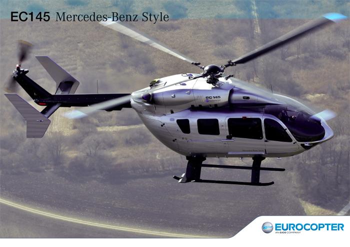 Eurocopter EC145 Mercedes Benz Style