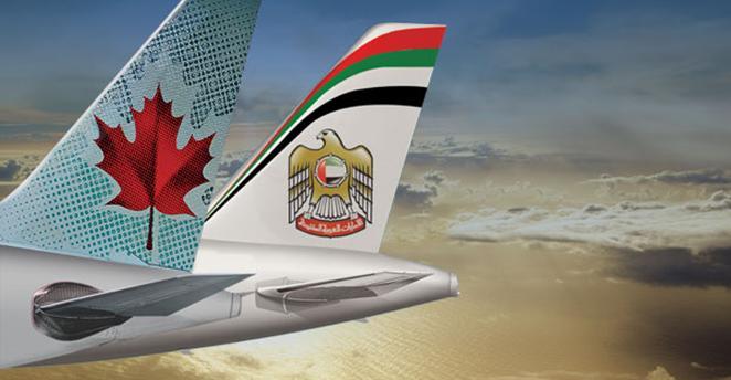 Ethiad Air Canada Codeshare
