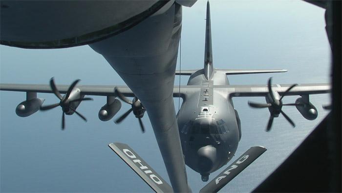 HC-130J Boom Refueling