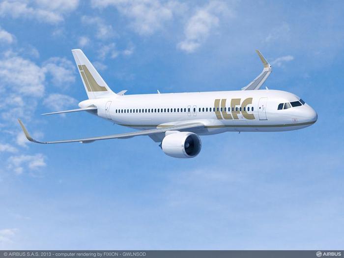 ILFC Airbus A320neo