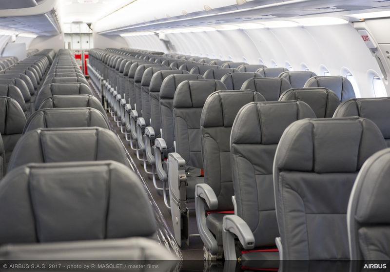 Iran Air Airbus A321 Seats