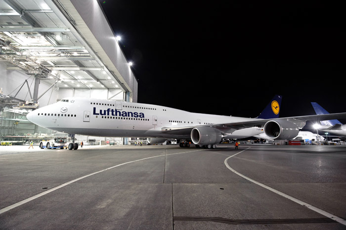 Lufthansa Boeing 747-8 Intercontinental Rollout