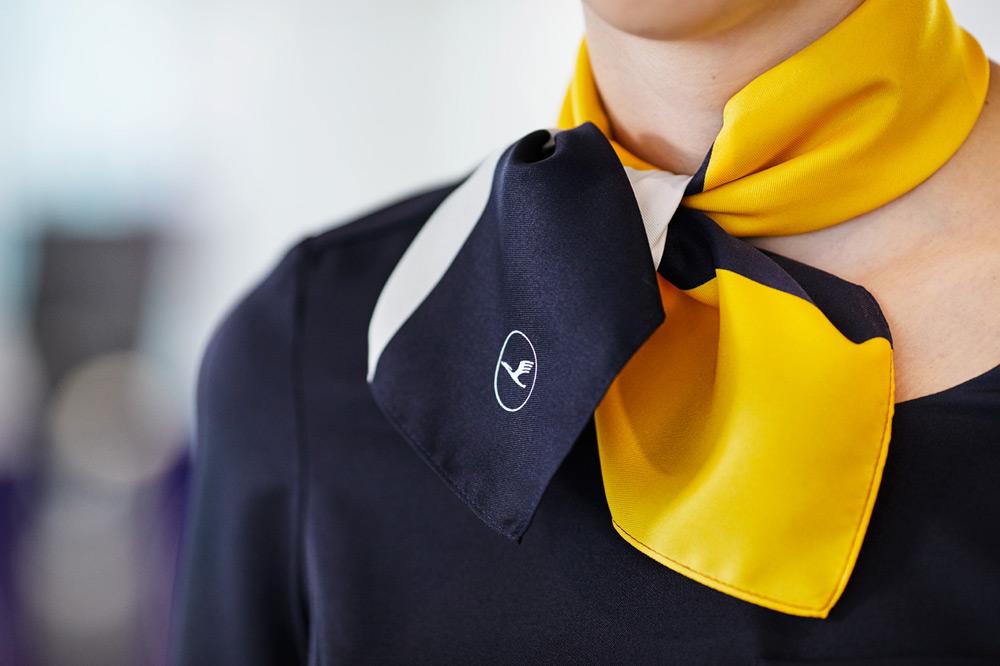 Lufthansa Scarf