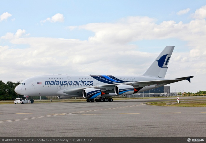 Malaysia Airlines A380 Special Livery