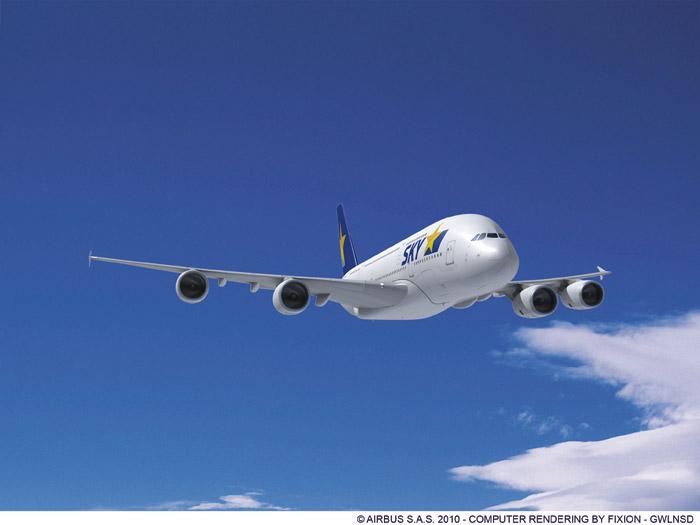 Skymark Airbus A380-800