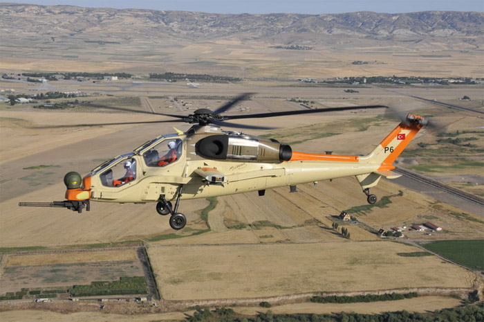 T129 Helicopter First Flight