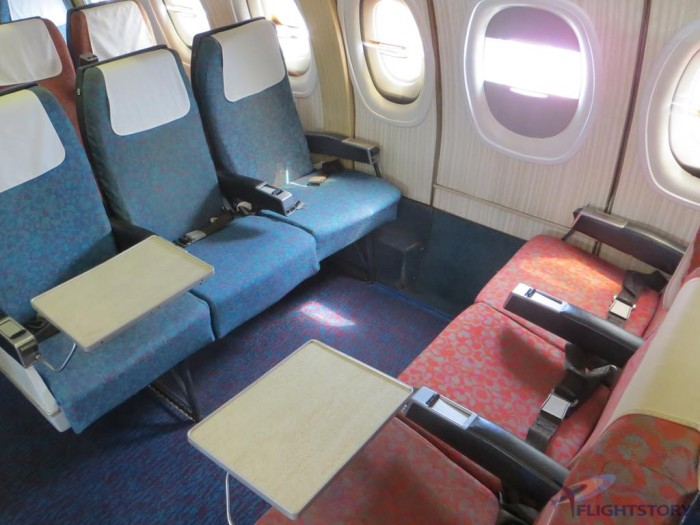 Trident 70s Cabin