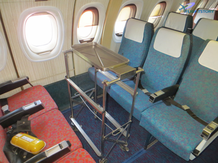 BEA Trident 70s Seat Layout