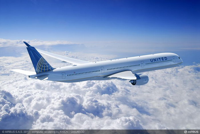 United Airlines Airbus A350-1000