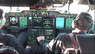Airbus A400M Cockpit Video Capture