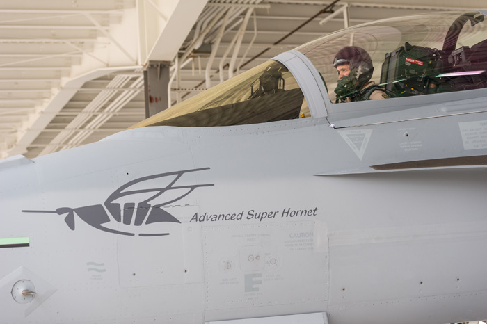 Advanced Super Hornet Logo