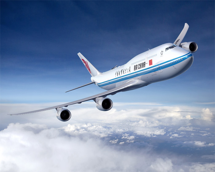 Air China Boeing 747-8 Intercontinental