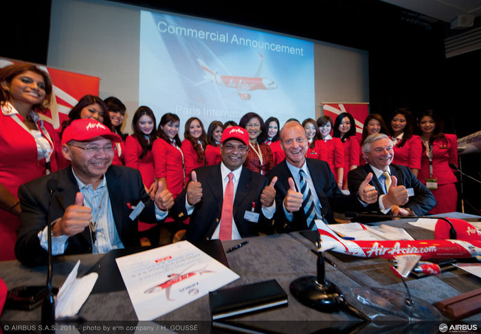 AirAsia Historical Airbus A320 Order