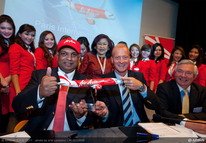 AirAsia largest Airbus A320 order ever