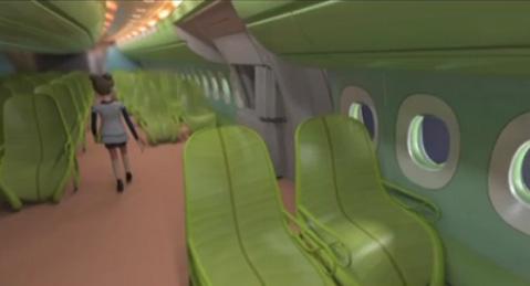 Airbus Future Cabin Vision 2011
