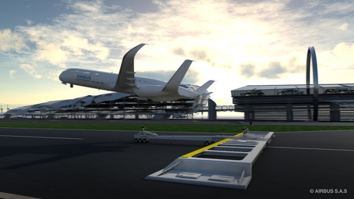 Airbus Future Vision 2050 - Eco-Climb Take-Off