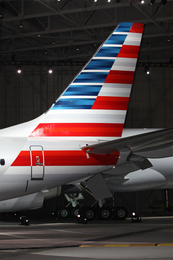 American Airlines New Tail Design